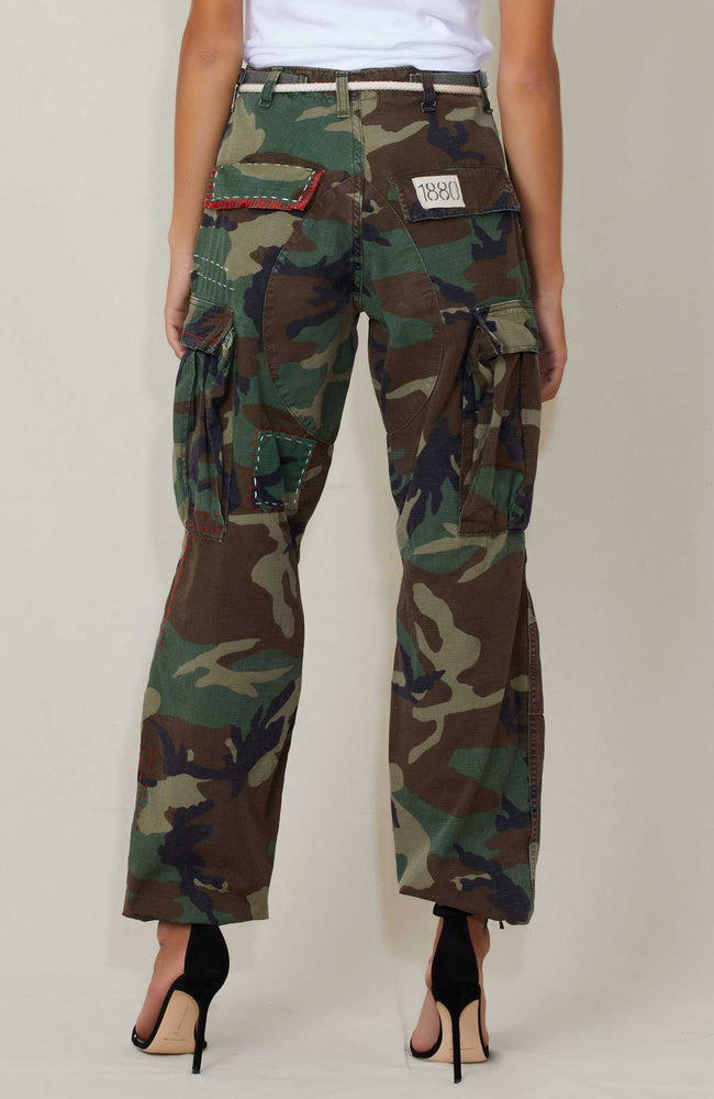 RILEY VINTAGE CAMO CARGOS Back shot