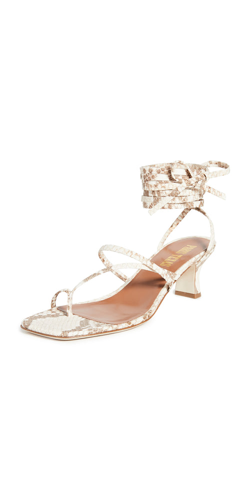 PARIS TEXAS Wrap Heel Sandal