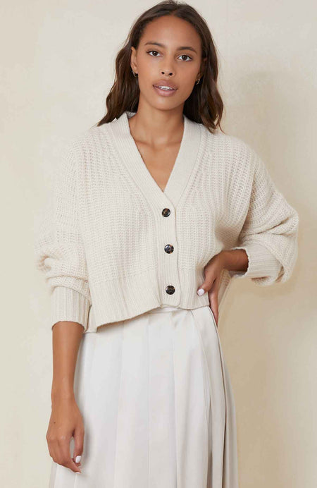 Preston Button Cardigan
