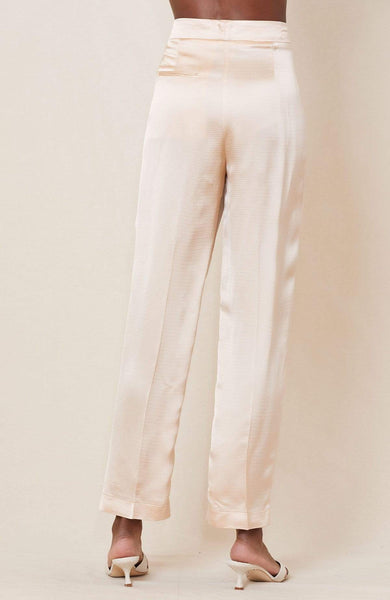 FORTE FORTE PANTS SATIN HIGH WAIST PANT Image