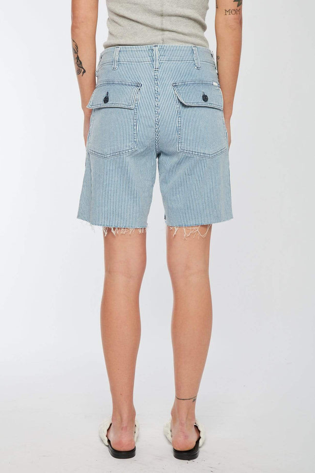 MOTHER SHORTS The Private Patch Pocket Shorts Image