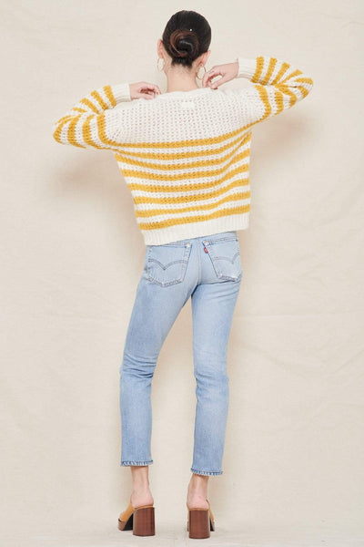 MOTHER SWEATER Stripe Jumper Image
