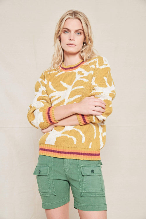 MOTHER SWEATER WILD PALMS / XS The Jumper Image