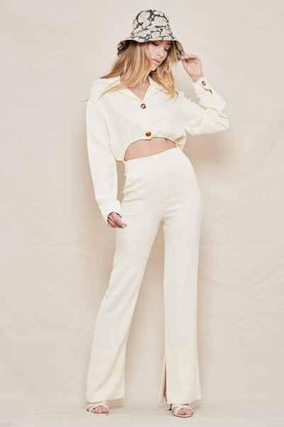 NANUSHKA JUMPSUIT Jude Cut-out Jumpsuit Image