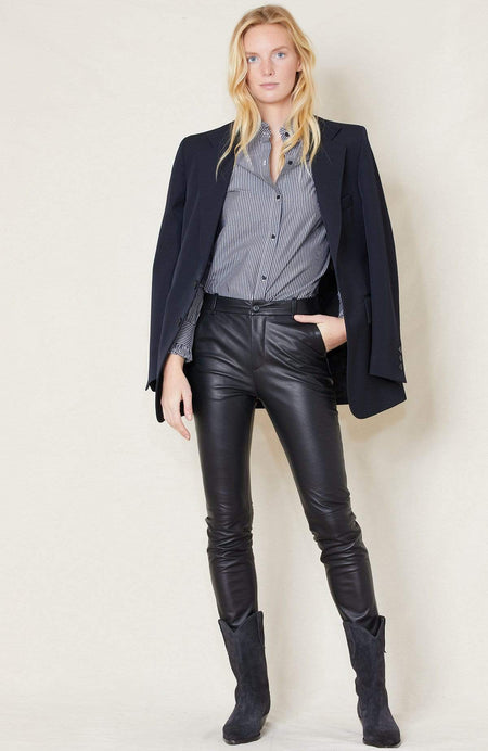 Montauk Leather Pant
