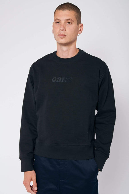 Circular Sweatshirt with Logo