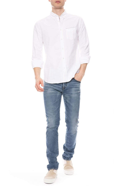 OFFICINE GENERALE SHIRT Japanese Selvedge Oxford Shirt Image