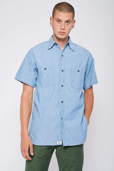 Vintage Short Sleeve Work Shirt