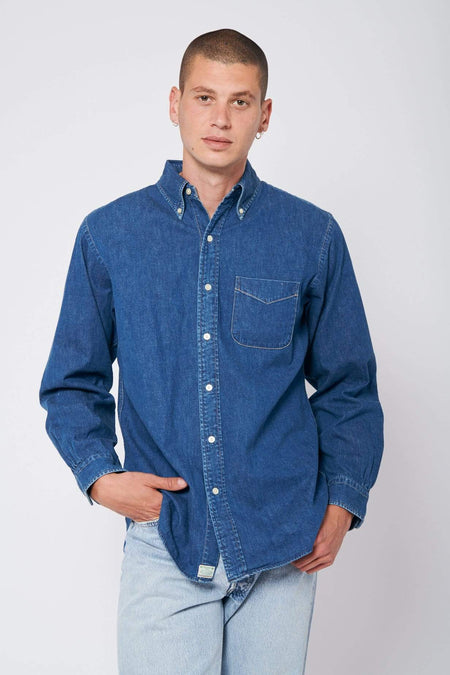 Denim Button Down 2 Year Wash Shirt