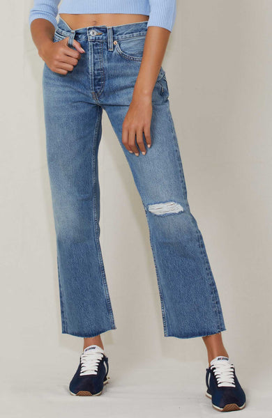 RE/DONE JEANS LIGHT WORN 11 / 24 90s Loose Straight Image