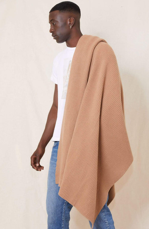 RHLA BLANKET/THROW CAMEL / O/SZ Cashmere Blanket/Throw Image