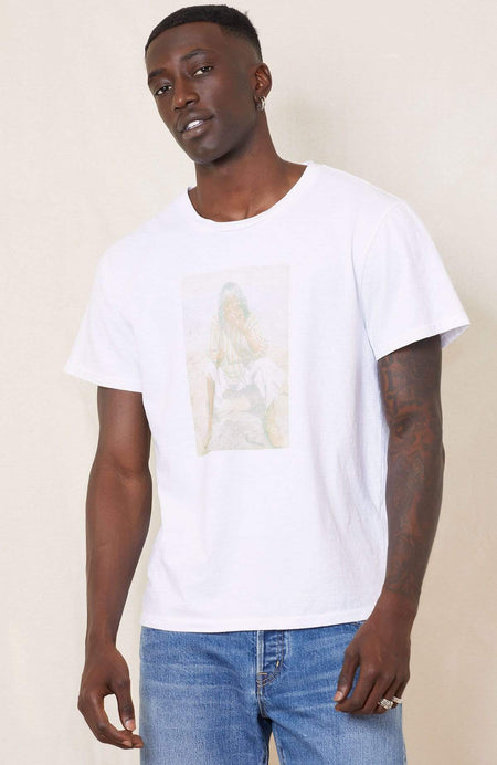 UNISEX CREW T-SHIRT W/ GRAPHIC