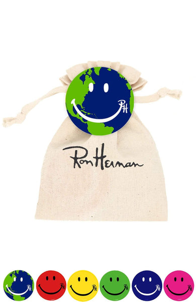 RON HERMAN ACCESSORY EARTH / O/SZ Ron Herman Smile Pin Packs Image