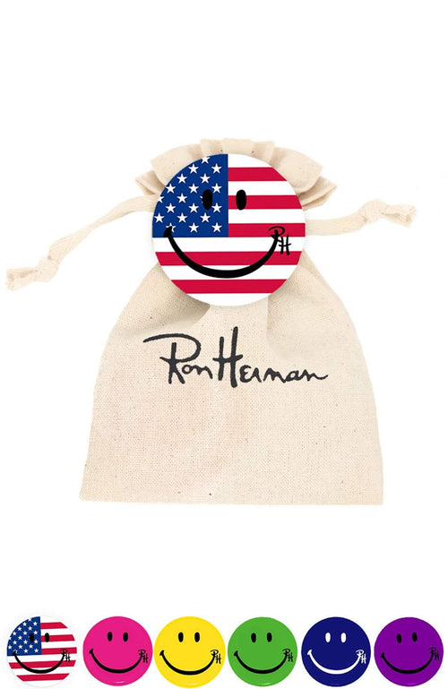 RON HERMAN ACCESSORY FLAG / O/SZ Ron Herman Smile Pin Packs Image