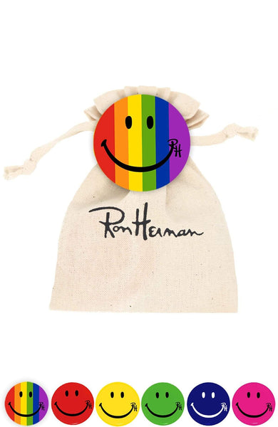 RON HERMAN ACCESSORY RAINBOW / O/SZ Ron Herman Smile Pin Packs Image