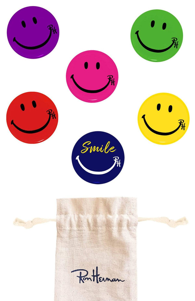 RON HERMAN ACCESSORY Ron Herman Smile Pin Packs Image