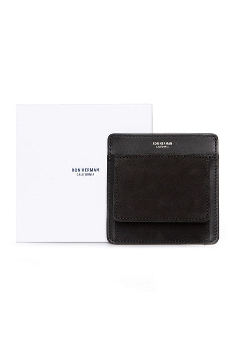Exclusive Small Suede Card Case