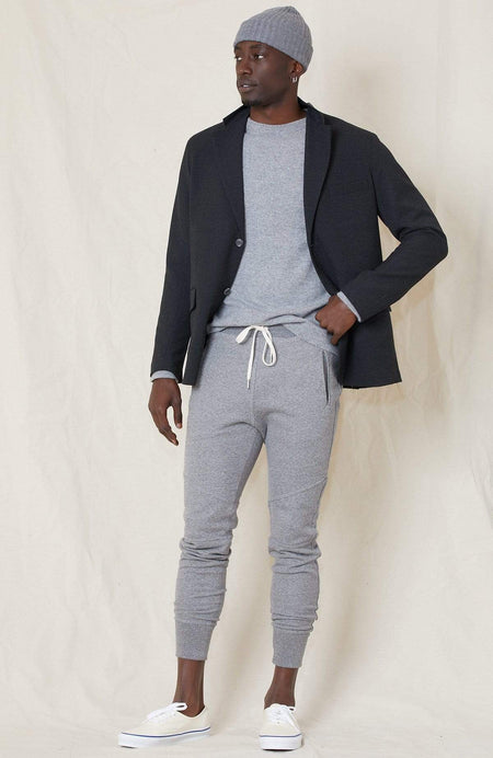 Poly Mix Unconstructed Blazer