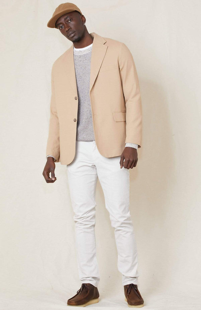 RON HERMAN WB BLAZER Cotton Wool Unconstructed Blazer Image