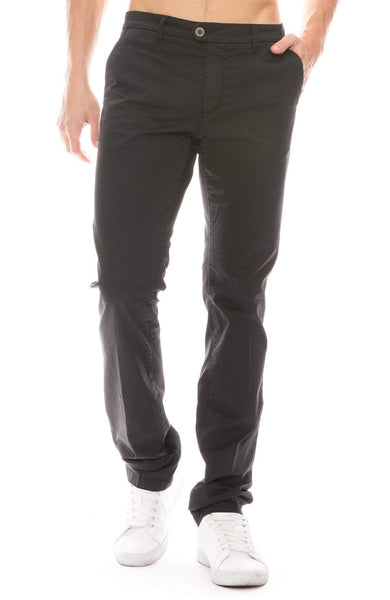 RON HERMAN X TELERIA PANTS BLACK / 29 Exclusive Lightweight Stretch Chino Image