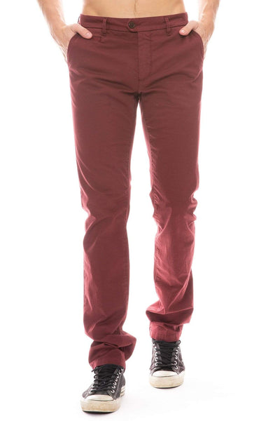 RON HERMAN X TELERIA PANTS BORDEAUX / 29 Exclusive Lightweight Stretch Chino Image