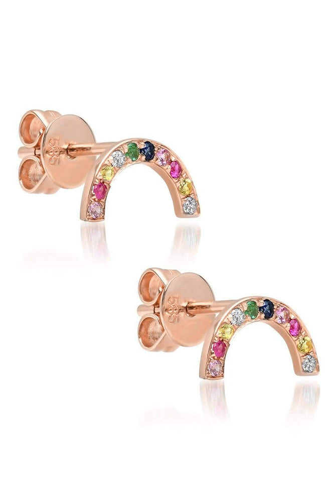 SHAIN LEYTON EARRINGS Rainbow Arch Earrings Image