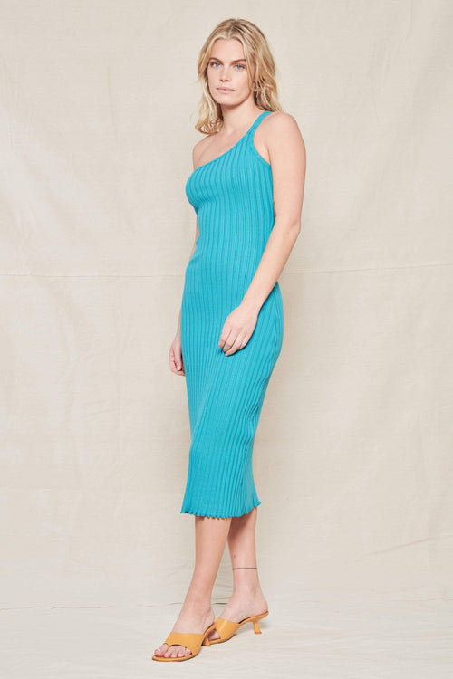 SIMON MILLER DRESS POOL / XS Rib Oline Dress Image