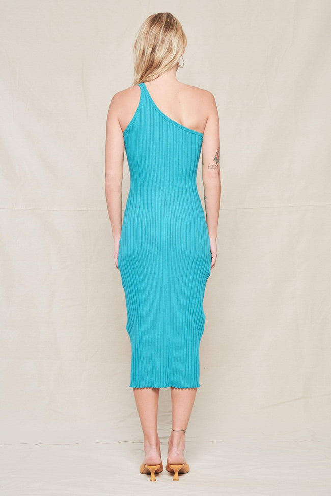 SIMON MILLER DRESS Rib Oline Dress Image