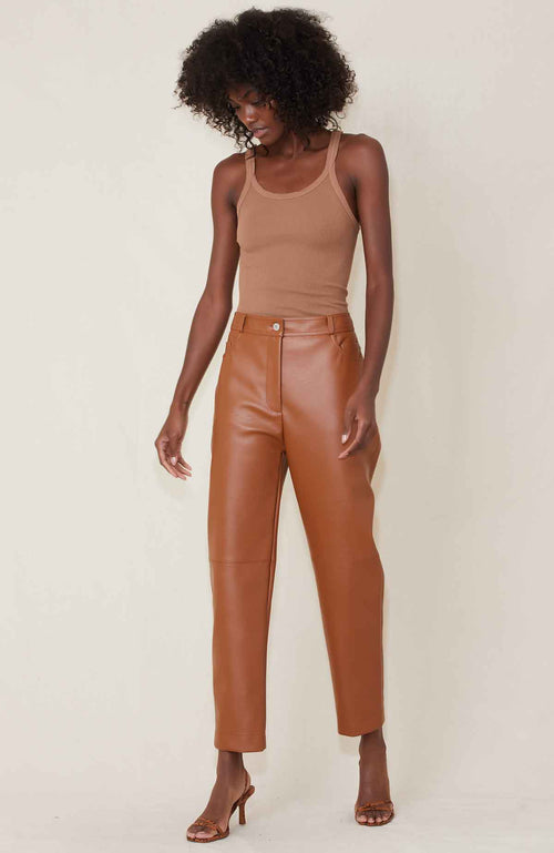 STELLA MCCARTNEY PANTS TOFFEE / 36 Hailey Trouser Image
