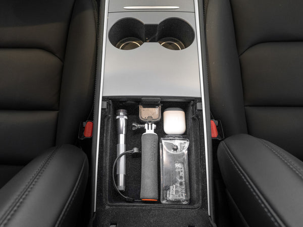 2021 Tesla Model 3 & Y Center Console Storage Organizer Kit (Complete Set)