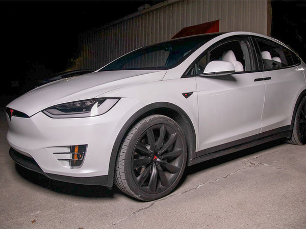 Tesla Model X Chrome Delete kit