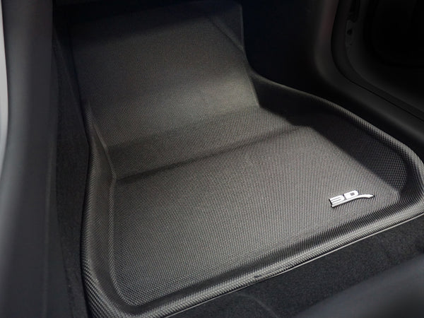 Tesla Model 3 Custom-Fit Floor Mats and Trunk Liner (3D MAXpider)