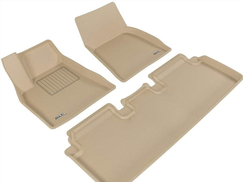 Tesla Model S Custom-Fit Floor Mats and Liners (3D MAXpider)
