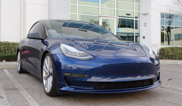 Tesla Model 3 Front Lip Spoiler by Unplugged Performance