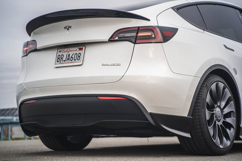 Tesla Model Y Carbon Fiber Performance Rear Spoiler