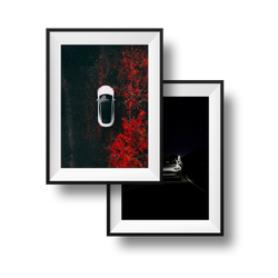Tesla Model 3 Exclusive Prints Collection (Set of 2)