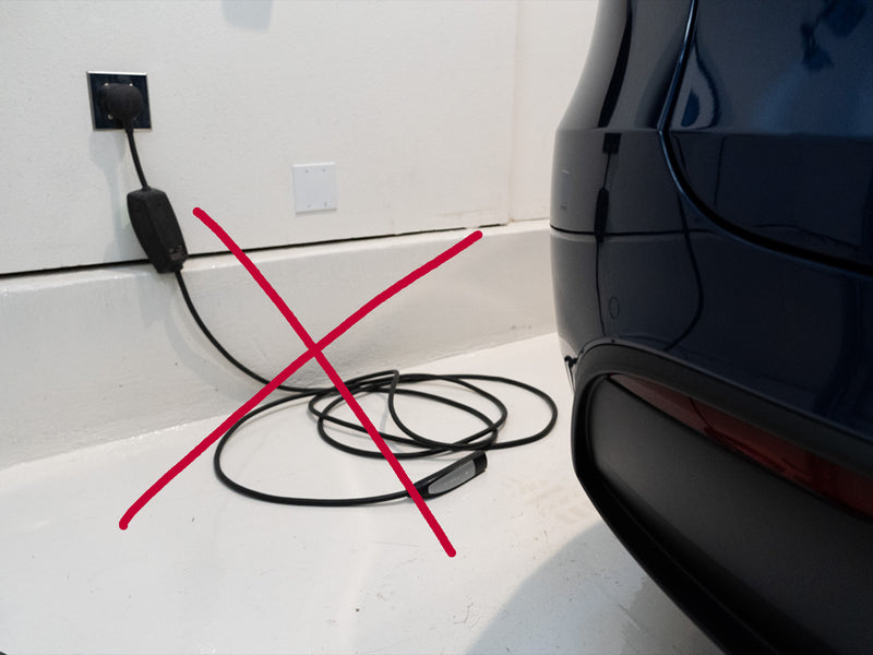 Tesla Charger Cable Organizer & Holder for Model S 3 X Y