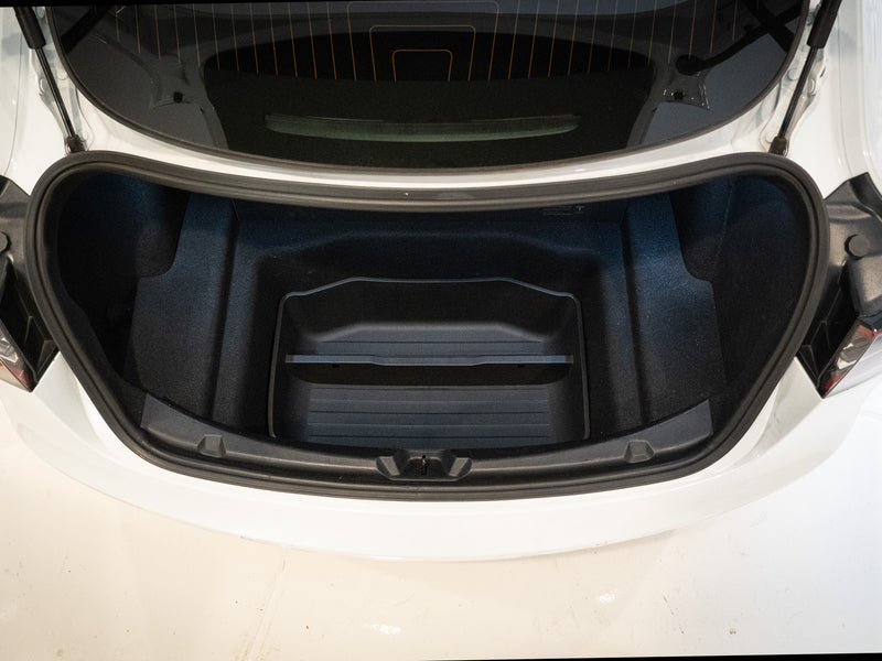 Tesla Model 3 Custom Fit Trunk Organizer (Upper + Lower Set)