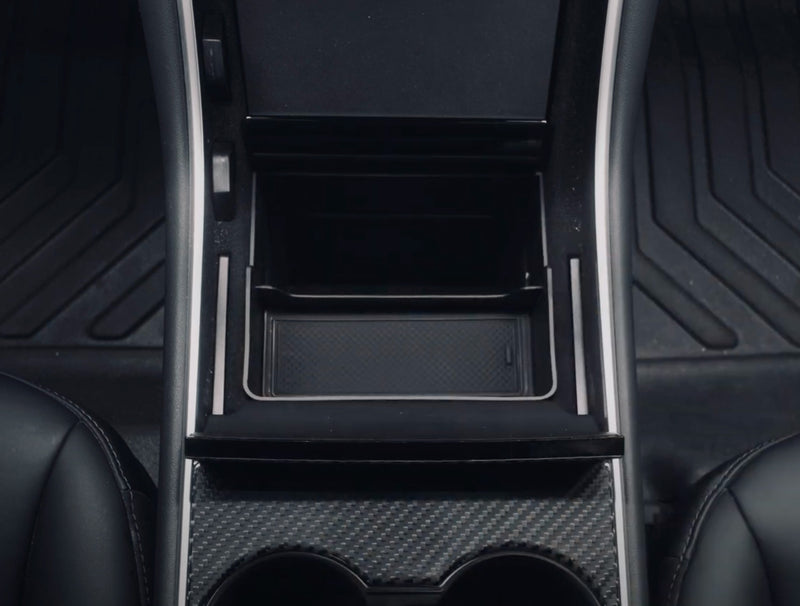Tesla Model 3 & Y Center Console Trash and Storage Bin