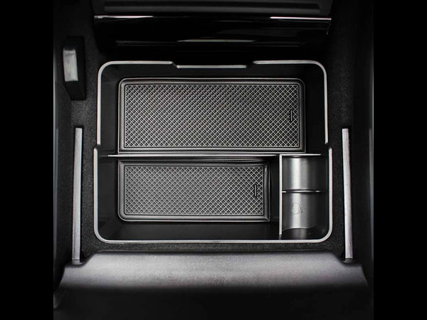 Tesla Model 3 & Y Center Console Tray (USB Hub Compatible)