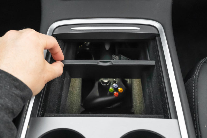 Premium Tesla Model 3 & Y Center Console Organizer (2021, 2020-2017)