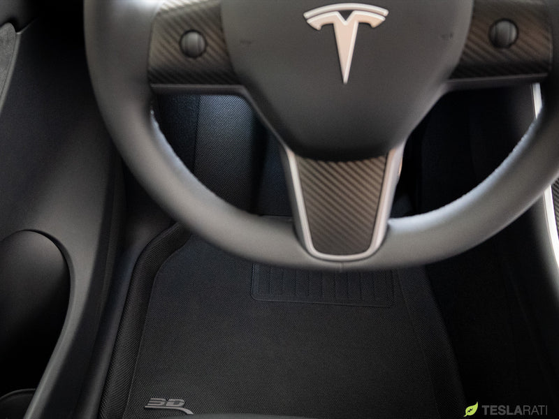 Tesla Model Y All-Weather 3D MAXpider Floor Mats and ...