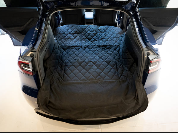 Tesla Model Y Pet Cover Rear Cargo Liner (Full Seatback Coverage)