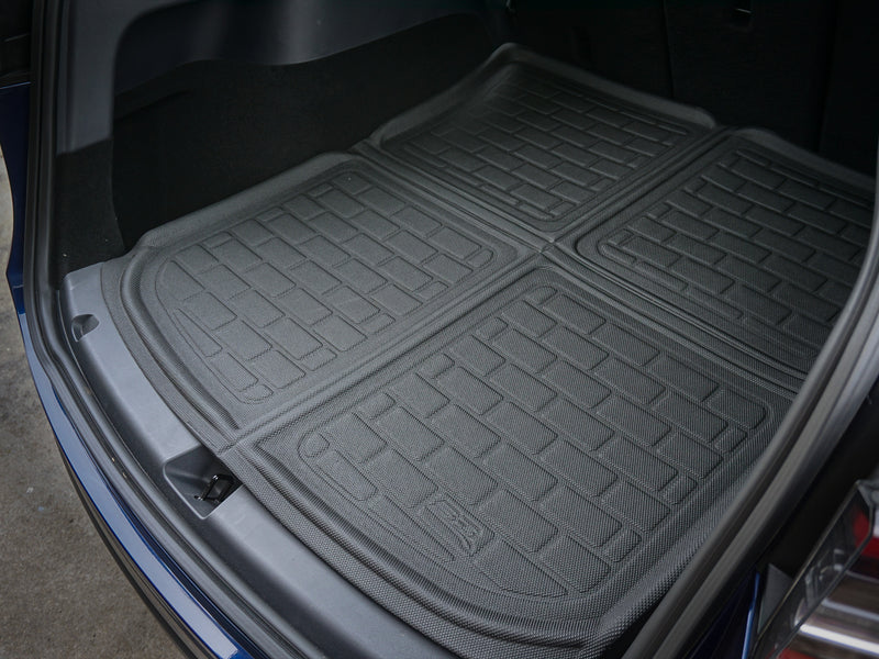 Tesla Model Y All-Weather 3D MAXpider Floor Mats and Liners