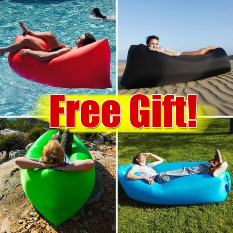INFLATABLE BEACH BED ( MADE IN U.S.A)