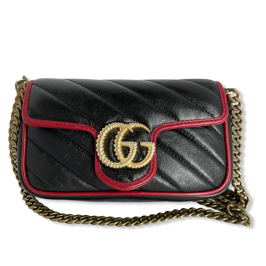 Gucci Super Mini Marmonte bag