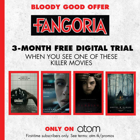 FANGORIA DIGITAL FREE TRIAL (Billed Monthly)