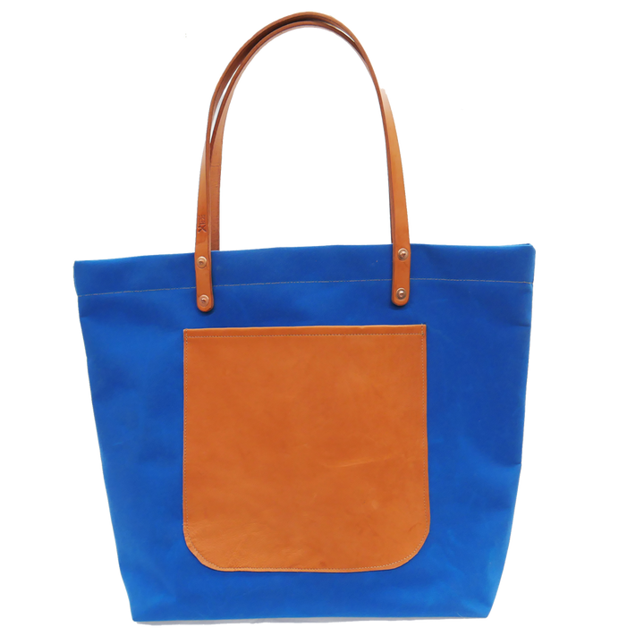 Canvas Tote Blue