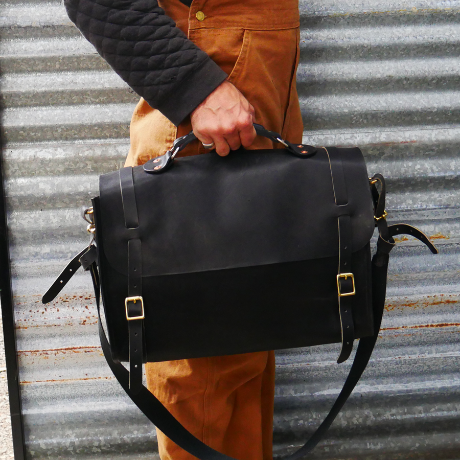 Satchel Bag Black