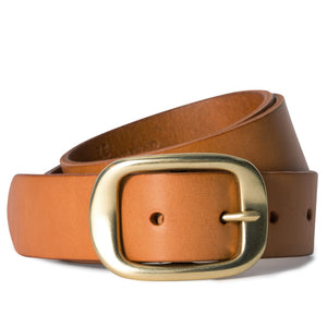 Plain Belt Tan
